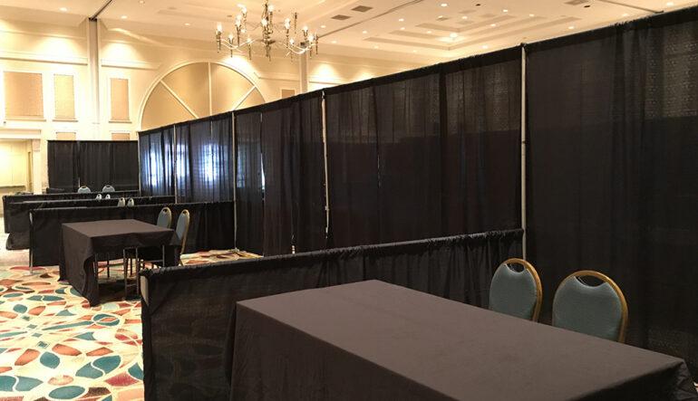 Trade Show Booth Setup