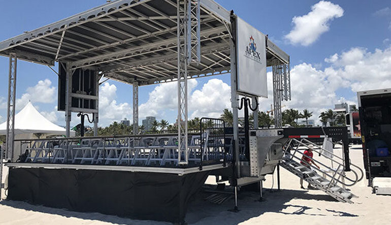 Portable, Mobile Stage Rentals for Concerts, Festivals & More